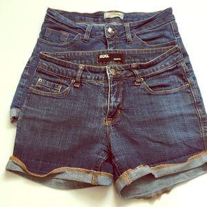 Pair of Mid-Rise Denim Shorts BDG/2.1 DENIM 26
